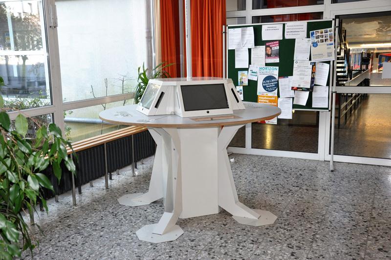 Internetpoint in der Aula