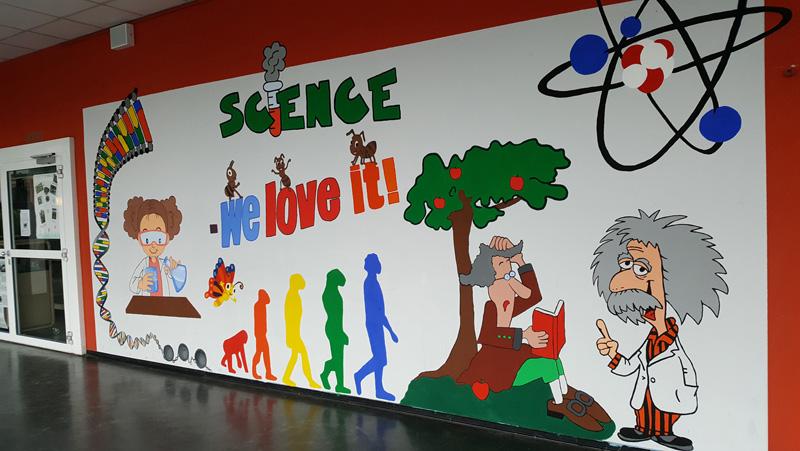 Unser Naturwissenschaftsgang