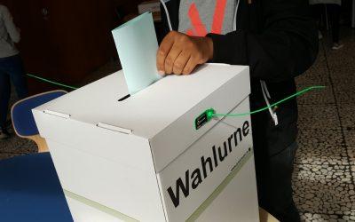Juniorwahl zur Bundestagswahl 2021 am EBG