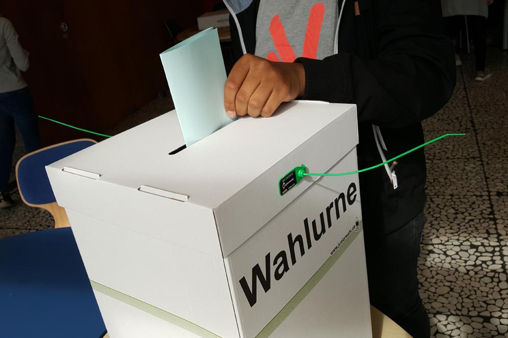 Juniorwahl zur Bundestagswahl 2017 am EBG – unsere Ergebnisse
