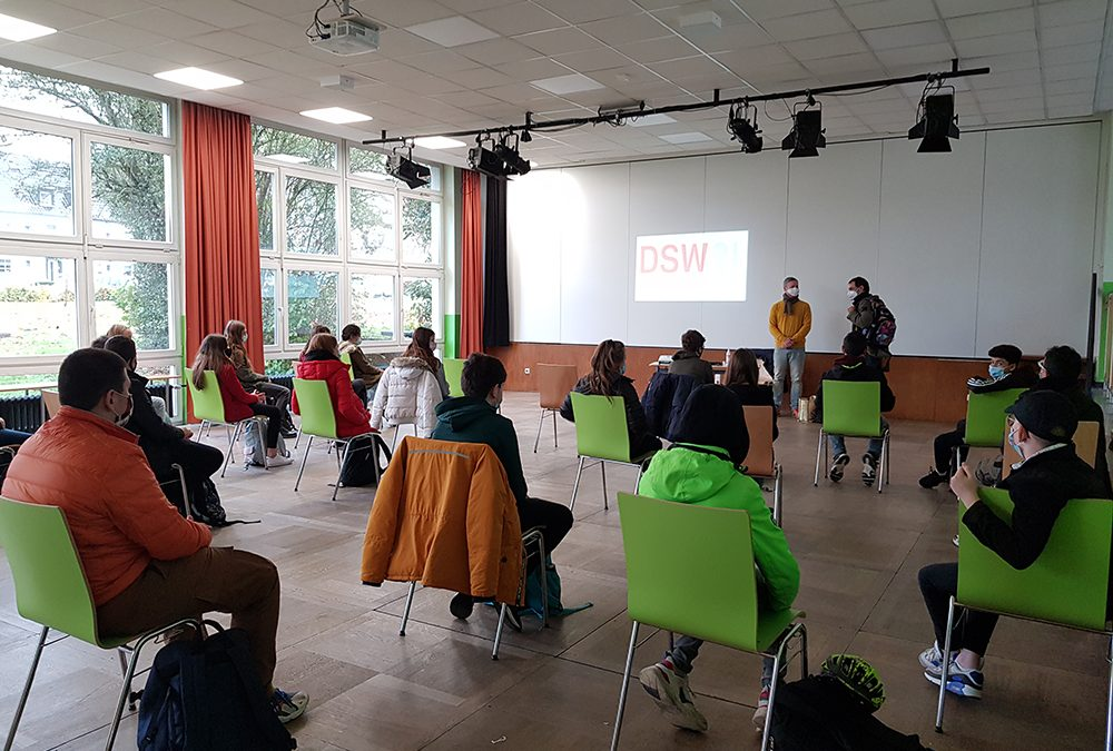 Bus&Bahn Workshop der Jahrgangsstufe 8