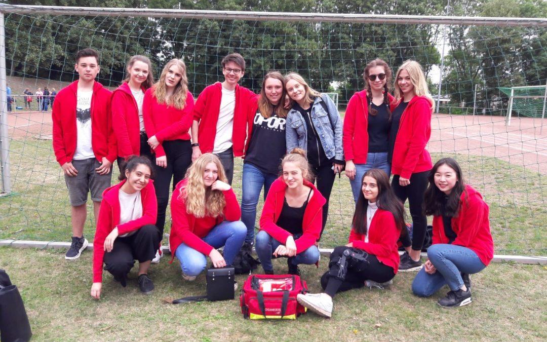 Sani-AG engagiert sich bei den Bundesjugendspielen einer Herner Grundschule