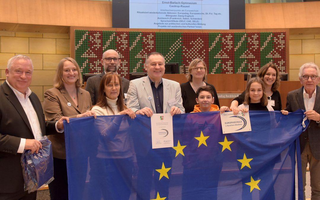 EBG ist Europaschule!