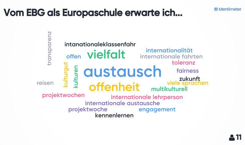 Bericht vom Europastand am Tag der offenen Tür