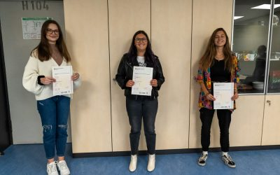 EBG-Schülerinnen erhalten Cambridge Certificates
