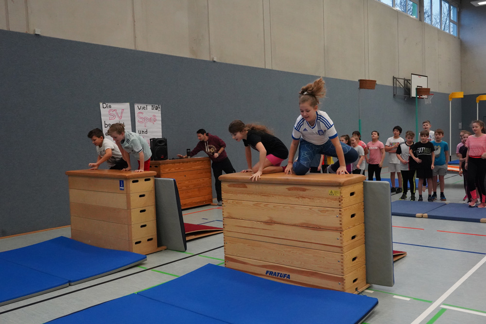 Spaß und Spiel am SV Sportfest der 5er und 6er