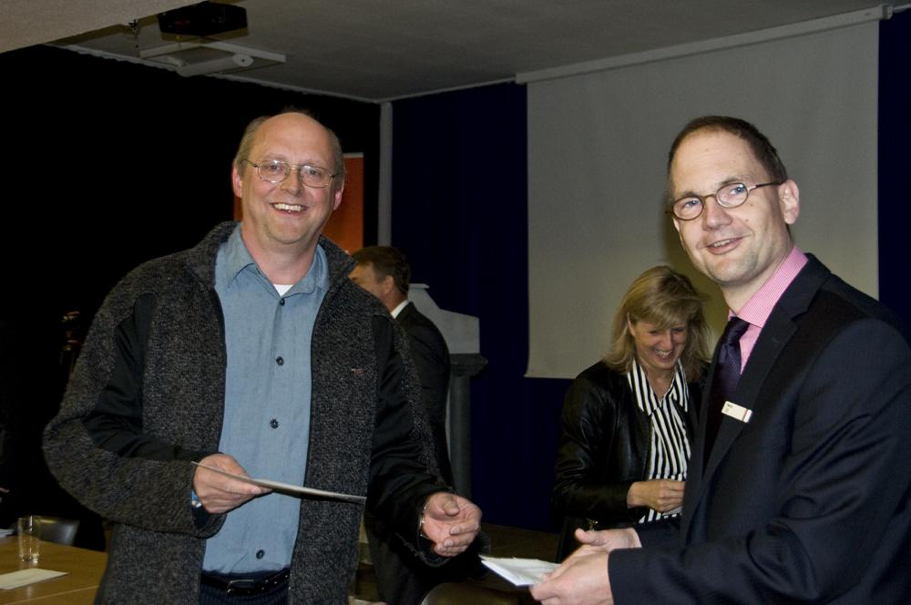 EBG erhält Fördersumme durch die Sparkasse Vest