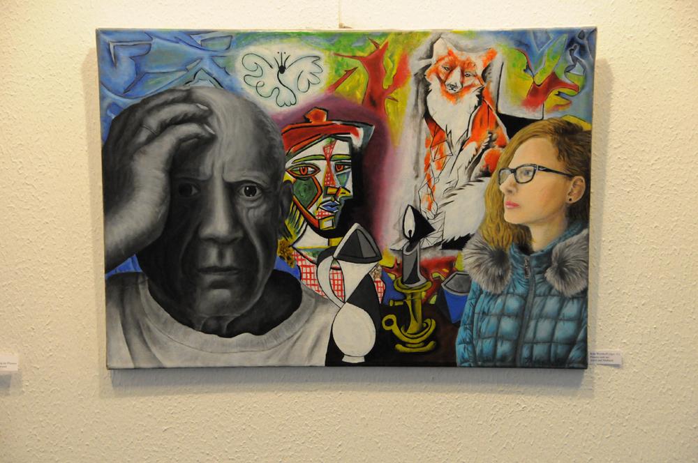 Colour Up! EBGler stellen Kunstwerke im Bürgerhaus Castrop – Rauxel aus