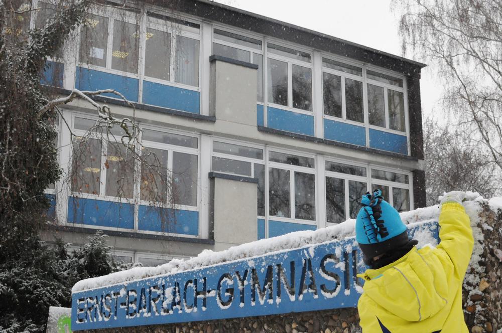 Das EBG bei Schnee