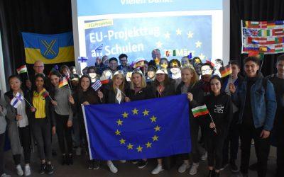 """EBG Schulprojekttag: """"Ein starkes und gemeinsames Europa"""""""