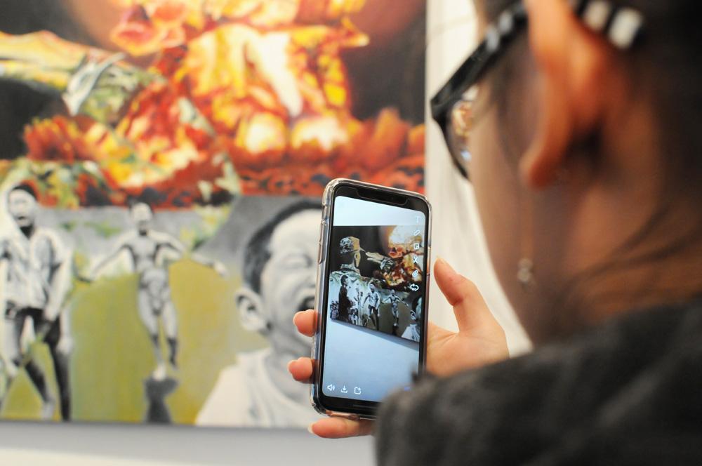 EBG stellt Kunstwerke im Bürgerhaus aus