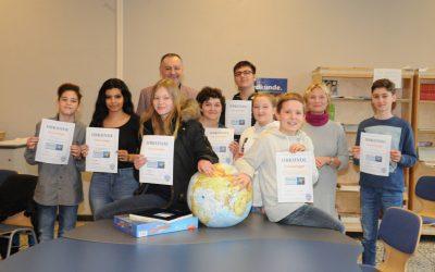 Diercke Wissen Erdkundewettbewerb – Siebtklässler gewinnt Schulrunde!