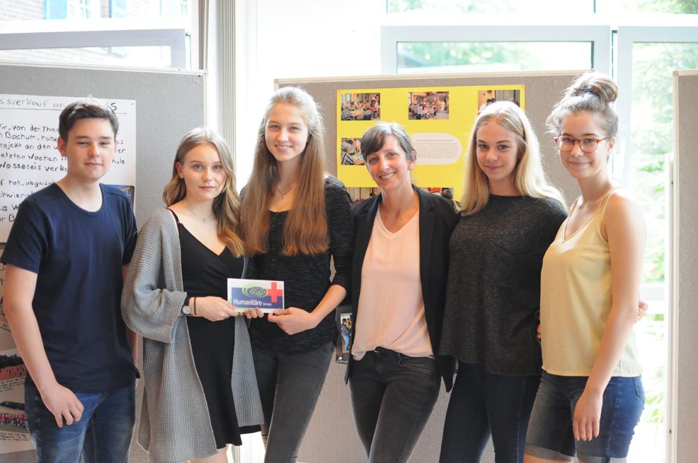 EBG erhält Auszeichnung als Humanitäre Schule