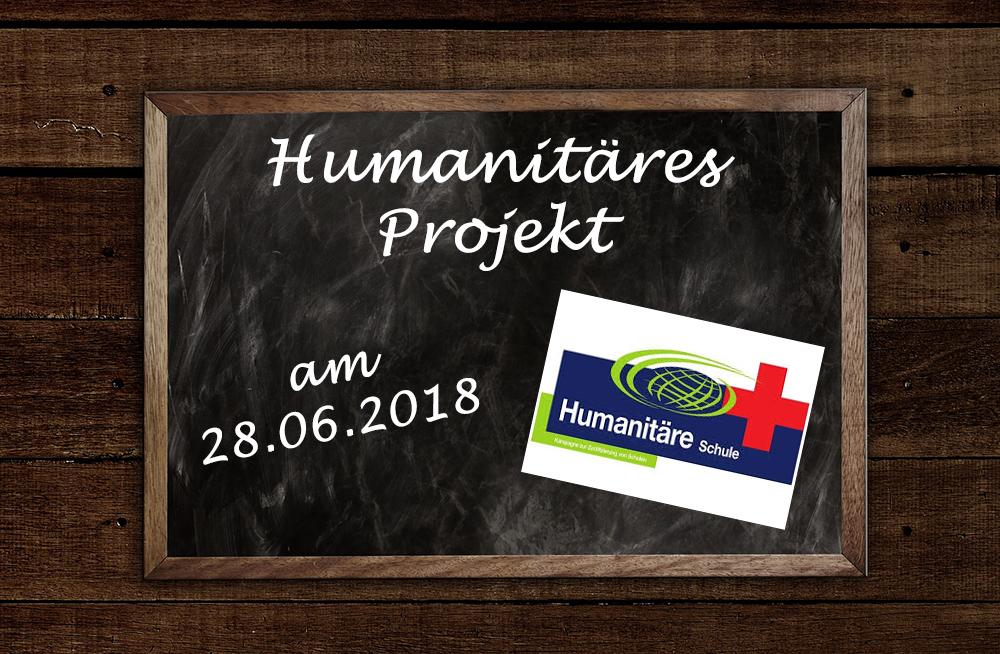 Humanitäres Projekt am 28.06.2018
