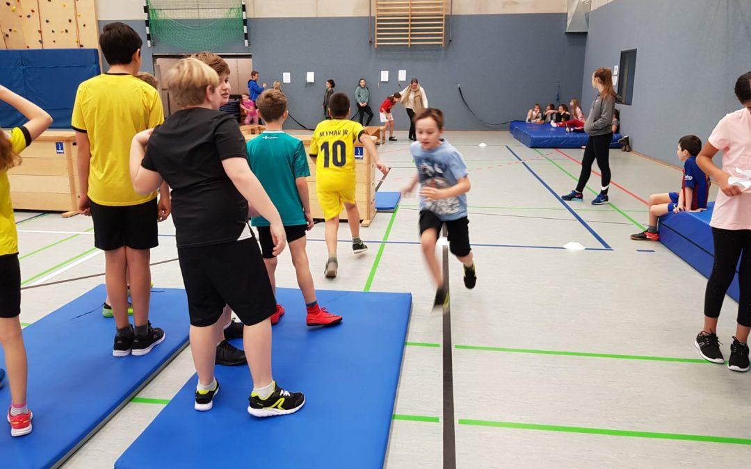 Spannendes SV- Sportfest für die 5er und 6er