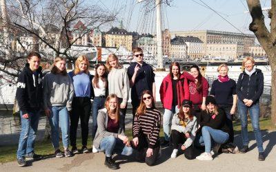 Austausch mit dem Falufri-Gymnasium in Falun, Schweden