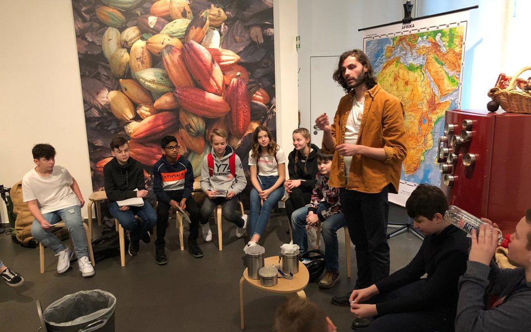Bili-Klasse 7a besucht das Schokoladenmuseum