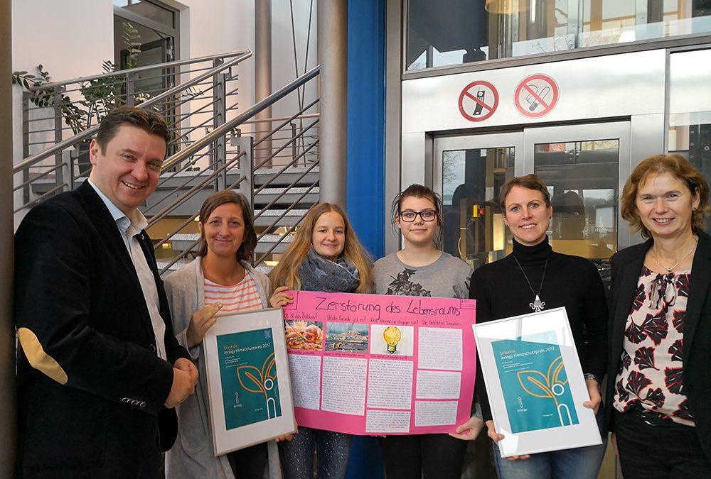 EBG-Projekttage gewinnen 1.500 Euro beim  innogy Klimaschutzpreis 2017