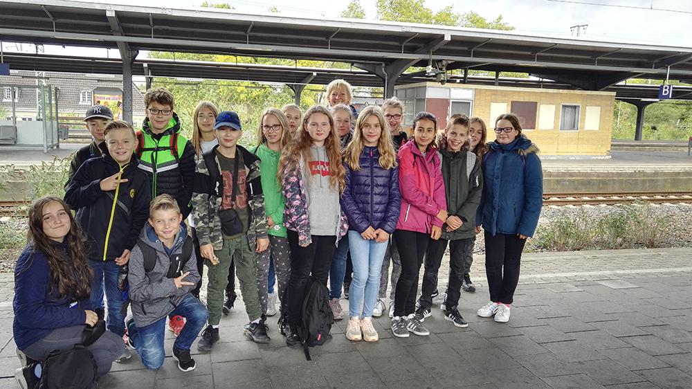 Exkursion zum Römermuseum nach Haltern