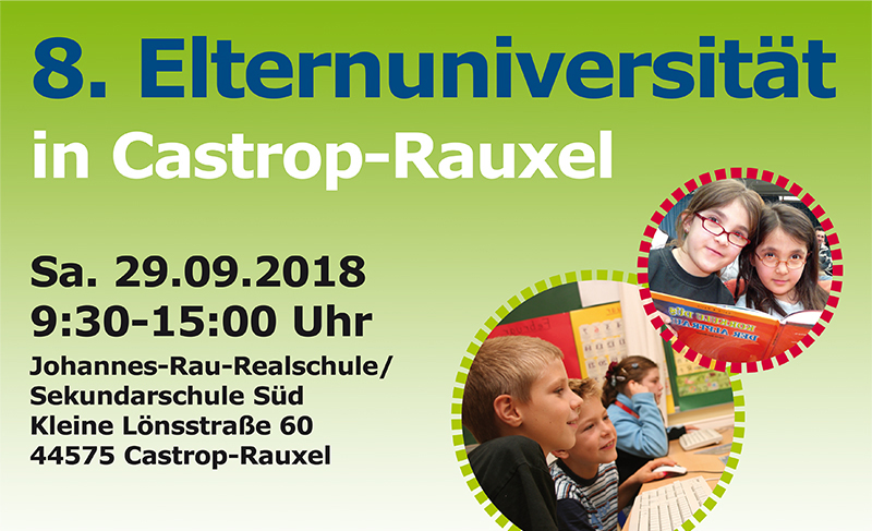 Elternuni in Castrop-Rauxel – Anmeldung noch möglich!