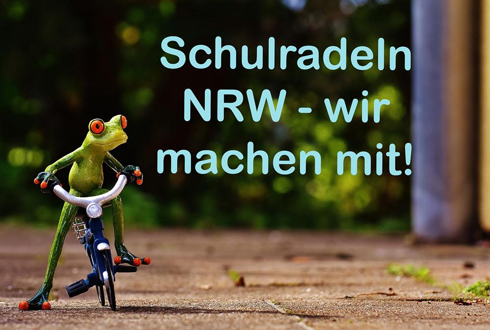 Schulradeln NRW – wir machen mit!