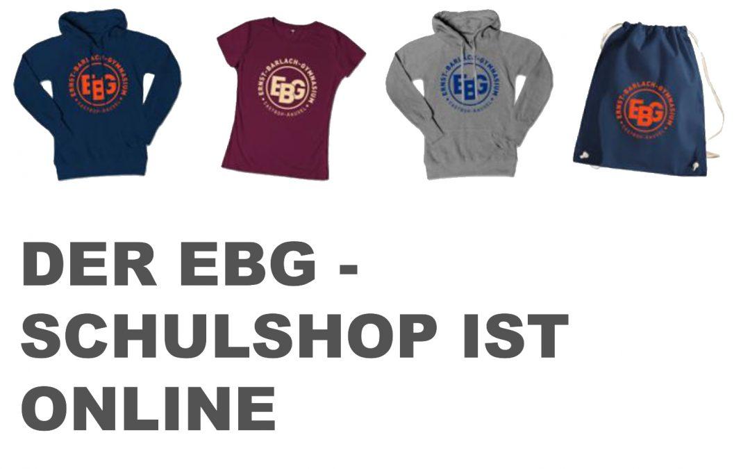EBG – Schulshop ist online