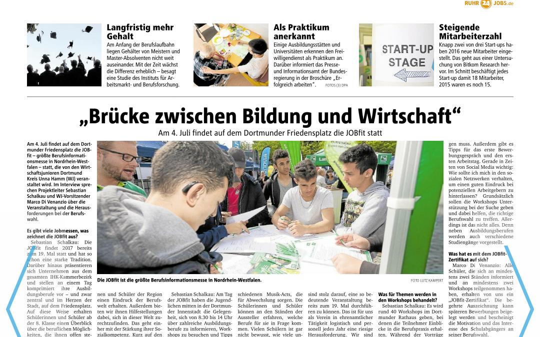 Berufsinformationsmesse in Dortmund