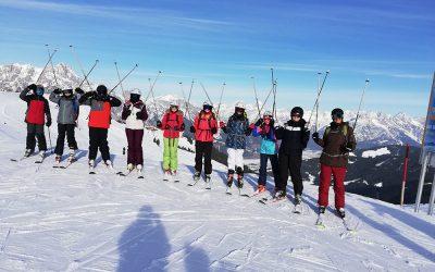 tägliche News von der Skifahrt