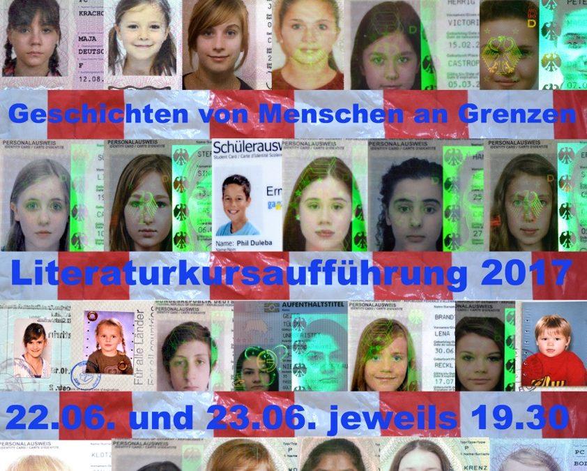Grenzüberschreitungsversuche – Geschichten von Menschen an Grenzen