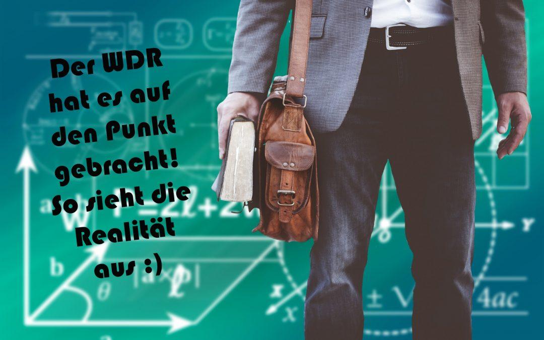 Comedy des WDR 2 – Lehrer sein macht Spaß!