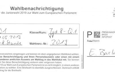 Juniorwahl zur Europawahl 2019