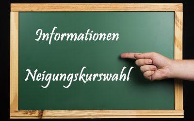 Informationen Neigungskurswahl Jgst. 8