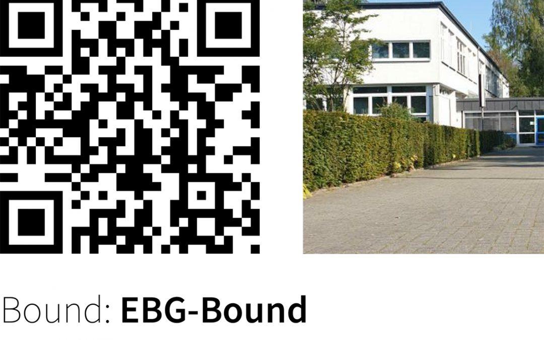 """Der """"EBG-Bound"""", eine digitale Schnitzeljagd"""