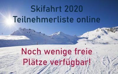 Skifahrt 2020 – NEWs