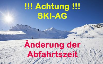 Skifahrt 2020 – Kofferliste