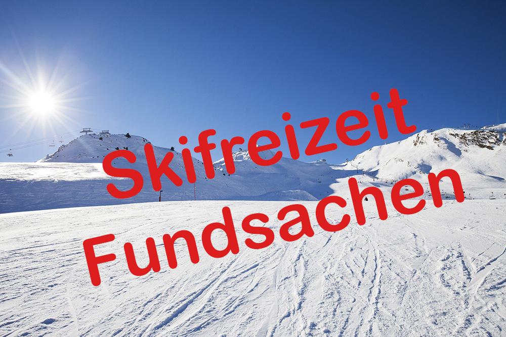 Fundsachen von der Skifreizeit