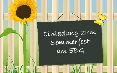Sommerfest am 11.07.2019